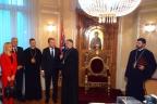 Сарајево - васкршњи пријем - владика Григорије