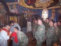 10 Св. Литургија у билећкој касарни