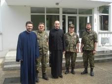 1 Обилазак војних свештеника у 4. пбр ОС БиХ