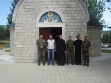 2 Обилазак војних свештеника у 4. пбр ОС БиХ