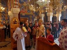 4 Света Архијерејска Литургија у храму Херцеговачка Грачаница