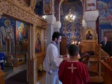 9 Света Архијерејска Литургија у храму Херцеговачка Грачаница
