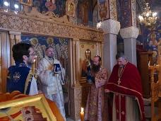 12 Света Архијерејска Литургија у храму Херцеговачка Грачаница