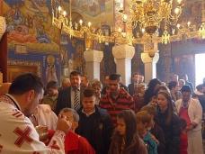 14 Света Архијерејска Литургија у храму Херцеговачка Грачаница