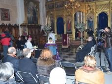 4 Молебан за јединство хришћана у Цркви Св. Благовјештења у Дубровнику