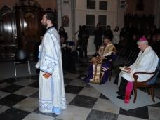 5 Молебан за јединство хришћана у Цркви Св. Благовјештења у Дубровнику