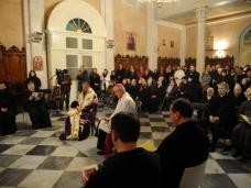 6 Молебан за јединство хришћана у Цркви Св. Благовјештења у Дубровнику