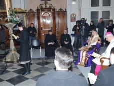8 Молебан за јединство хришћана у Цркви Св. Благовјештења у Дубровнику