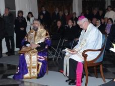 9 Молебан за јединство хришћана у Цркви Св. Благовјештења у Дубровнику
