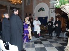 13 Молебан за јединство хришћана у Цркви Св. Благовјештења у Дубровнику