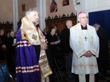 34 Молебан за јединство хришћана у Цркви Св. Благовјештења у Дубровнику