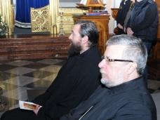 42 Молебан за јединство хришћана у Цркви Св. Благовјештења у Дубровнику