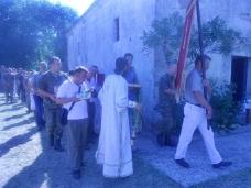9 Успење Пресвете Богородице – слава храма у Габели