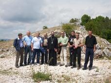 2 Освећење темеља цркве Часног Крста у селу Дражљеву
