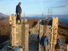 6 Освећење темеља цркве Часног Крста у селу Дражљеву