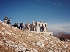 9 Освећење темеља цркве Часног Крста у селу Дражљеву