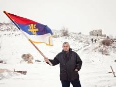 13 Освећење темеља цркве Часног Крста у селу Дражљеву