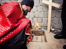 15 Освећење темеља цркве Часног Крста у селу Дражљеву