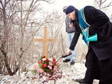 17 Освећење темеља цркве Часног Крста у селу Дражљеву