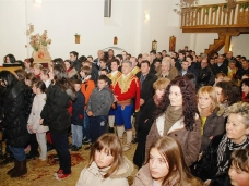 1 Бадње вече и Божић у Саборном храму у Гацку