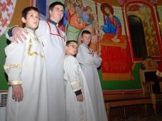 4 Бадње вече и Божић у Саборном храму у Гацку