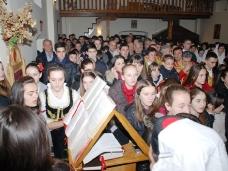 5 Бадње вече и Божић у Саборном храму у Гацку