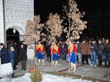 9 Бадње вече и Божић у Саборном храму у Гацку