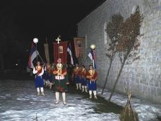 10 Бадње вече и Божић у Саборном храму у Гацку
