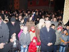 14 Бадње вече и Божић у Саборном храму у Гацку