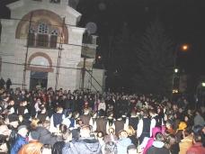 25 Бадње вече и Божић у Саборном храму у Гацку