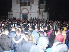 27 Бадње вече и Божић у Саборном храму у Гацку