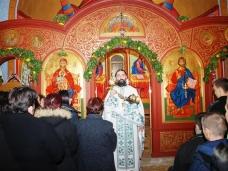 30 Бадње вече и Божић у Саборном храму у Гацку