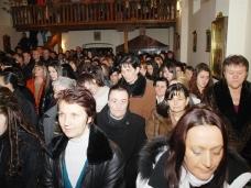 33 Бадње вече и Божић у Саборном храму у Гацку