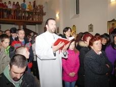 35 Бадње вече и Божић у Саборном храму у Гацку