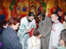 40 Бадње вече и Божић у Саборном храму у Гацку