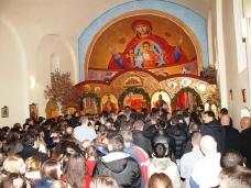 42 Бадње вече и Божић у Саборном храму у Гацку