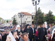 7 Посјета Патријарха српског Г. Иринеја Гацку