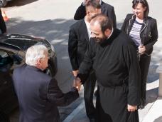 1 Канадска делегација у посjети Епархији ЗХиП у Мостару