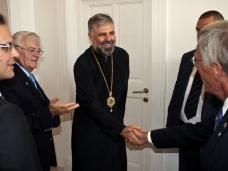 2 Канадска делегација у посjети Епархији ЗХиП у Мостару