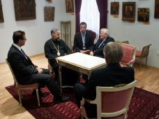3 Канадска делегација у посjети Епархији ЗХиП у Мостару