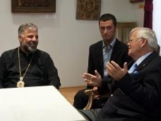 4 Канадска делегација у посjети Епархији ЗХиП у Мостару