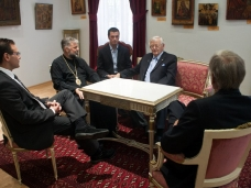 5 Канадска делегација у посjети Епархији ЗХиП у Мостару