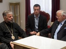 6 Канадска делегација у посjети Епархији ЗХиП у Мостару