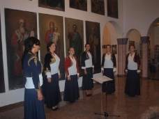 3 Концерт Камерног хора Херцеговачке Грачанице
