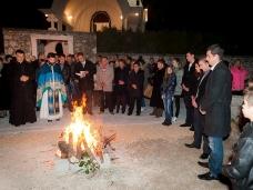 9 Празник рођења Христовог свечано је прослављен у парохији Метковској