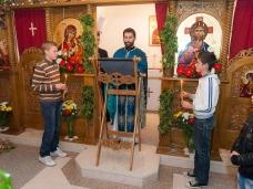 13 Празник рођења Христовог свечано је прослављен у парохији Метковској