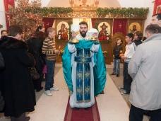 15 Празник рођења Христовог свечано је прослављен у парохији Метковској