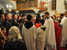 8 Мостарски Срби дочекали су Божић на поноћним литургијама