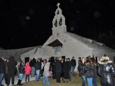 10 Мостарски Срби дочекали су Божић на поноћним литургијама