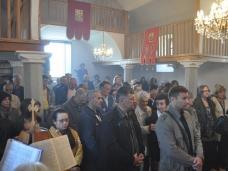 11 Св. Литургија на Цвијети у Мостару